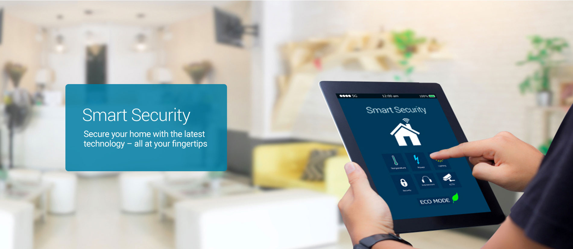 Smart security solution for home