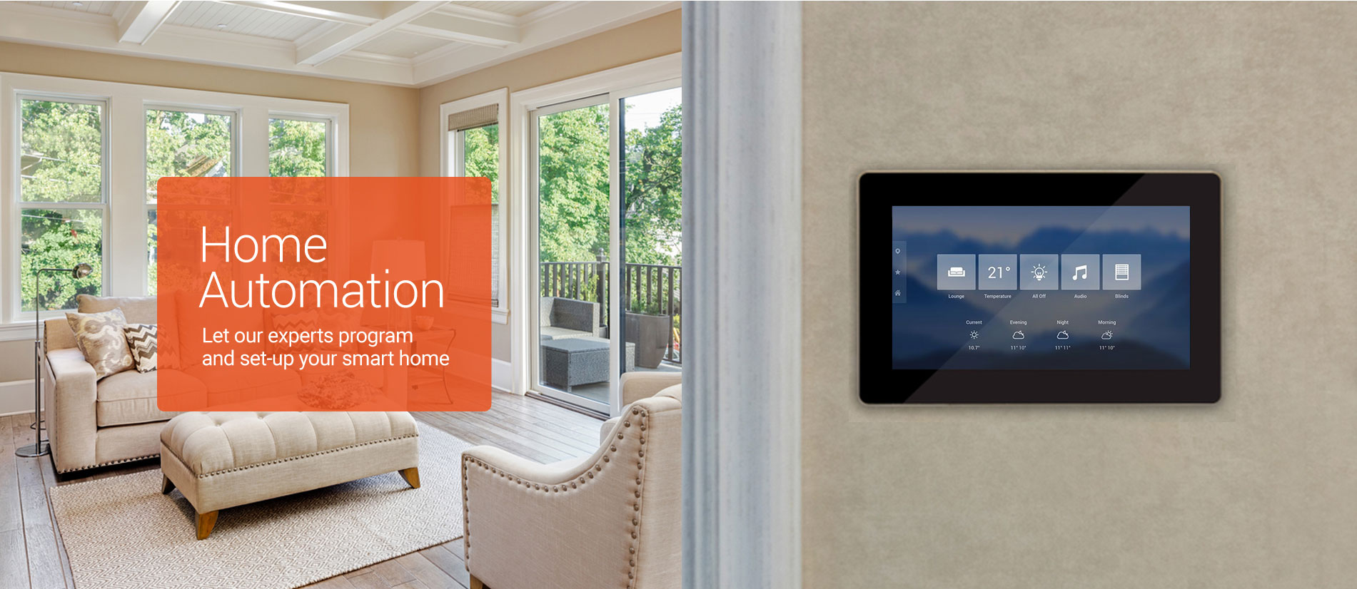Home Automation Services for your smart home
