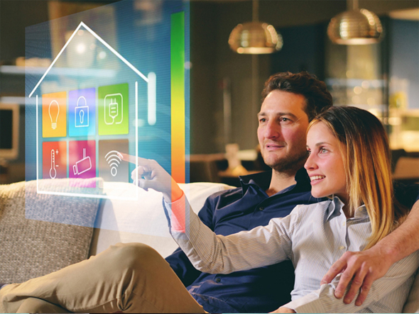 Wireless connectivity services for home